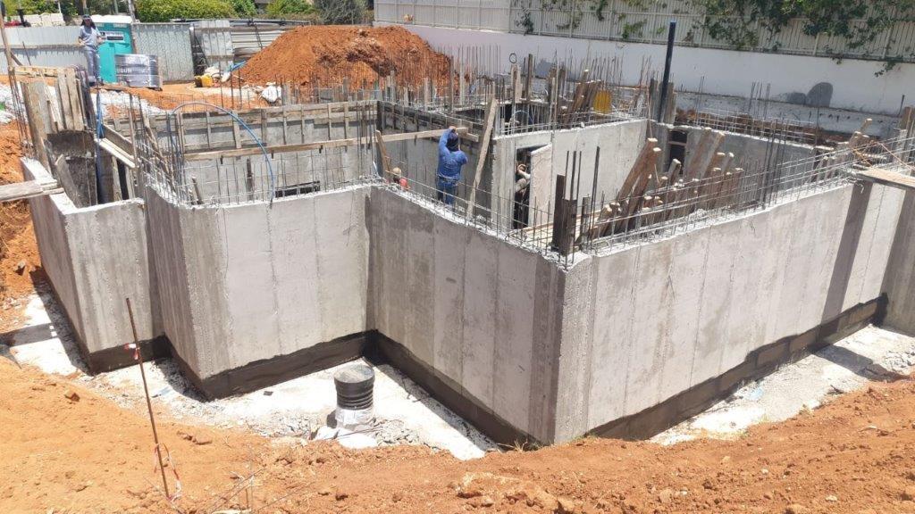 בניית שלד לבניין